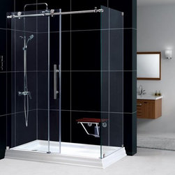 """Dreamline Enigma-X Shower Enclosure - APPLY COUPON CODE """"EDHOUZ50"""" AT CHECKOUT. JUST OUR WAY OF SAYING THANKS."""