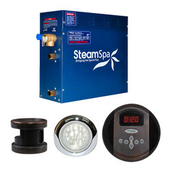 SteamSpa - SteamSpa Indulgence 6kw Steam Generator Package in Oil Rubbed Bronze - DESCRIPTION