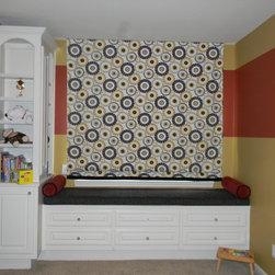 window treatments - Boy's Room
