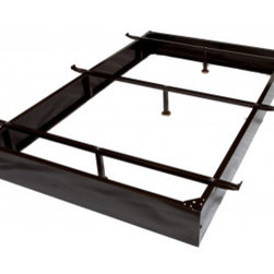 "Bed Frame - Full XL Metal Bed Frame 7-1/2"" - Metal Bed Frames by Ramayan Supply."