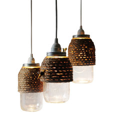 Rustic Pendant Lighting by EcoFirstArt