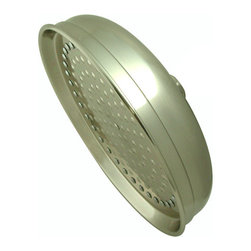 Kingston Brass - 10in. Rain Drop Shower Head - Fabricated from solid brass material for durability and reliability, Premium color finish resists tarnishing and corrosion, 10in. diameter spray face, Rain drop shower pattern.