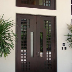 Modern contemporary european style entry doors by deco for High end exterior doors