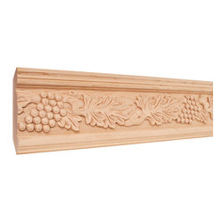 Hardware Resources - Cherry Traditional Mouldings - Crown moldings ease the transition from ceiling to wall. They add character and elegance to your room from the simple and traditional to the rich curves and flowers of the Renaissance designs. Give your room the finishing touch it deserves.