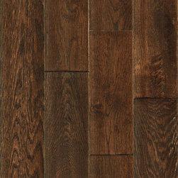"Hardwood Flooring - Mohawk Saunders Barrel Oak 5"" Solid Hardwood"