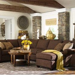 Brewster Sectional Bassett Furniture