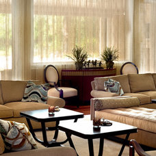 Contemporary Living Room by Concierge Design & Project Management, LLC
