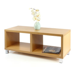 Furinno - Furinno XBF65-C NihonTV Stands/Coffee Table - Furinno Nihon Series is designed with Japanese Living Concept. The main material is hollow wood structure particle board. This series contains models home living furniture that is popular in Japanese market. The Nihon Series presents contemporary, modern elements and featuring multi-purpose usage. All three models comes in two options of color: Light Cherry or Espresso. Care Instructions: Wipe clean with damped cloth. Avoid using harsh chemicals. Pictures are for illustration purpose. All decors are not included in this offer.