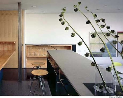 Modern Kitchen by INTERSTICE Architects Inc.