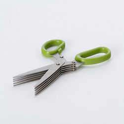 Herb Kitchen Scissors - For snipping fresh herbs, check out these kitchen scissors. They are perfect for clipping delicate vegetation.