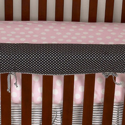 "Cotton Tale Designs - Poppy Front Cover Up - A quality baby bedding set is essential in making your nursery warm and inviting. All Cotton Tale patterns are made using quality materials and are uniquely designed to create your perfect nursery. The Poppy front cover up is both function and design. What a great idea, this front rail cover up protects your foot board on the convertible cribs and it looks great. For the parent choosing not to use a bumper, it can add the needed decor lost when the bumper is removed. Cover ups can be used with a full bumper as well. All Cotton Tale and N. Selby patterns have matching crib rails cover ups. Wash gentle cycle, separate, cold water. Tumble dry low or hang dry.. This collection is perfect for your little sophisticated girl.;Dimensions: 51""L x 1""W x 15""H"