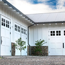 Contemporary Garage Doors by Real Carriage Door Company