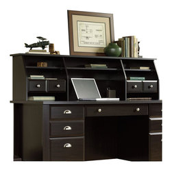 Sauder - Sauder Shoal Creek Hutch/Organizer in Jamocha Wood - Sauder - Hutch - 408750 - Sure, lots of office and home furnishing manufacturers can help you create an organized, comfortable and fashionable place to live. But Sauder provides a special kind of furniture that is practical and affordable, as well as attractive and enduring. As North America's leading producer of ready-to-assemble furniture, we offer more than 500 items that have won national design awards and generated thousands of letters of gratitude from satisfied consumers.