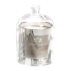 Silver Domed Candle Jar - Snow Berry - Evoke a vintage appeal that is both timeless and elegant with the apothecary style Silver Domes Candle Jar in Snow Berry, a delightful holiday fragrance that rests in a stunning silver vessel topped with a gogeous glass dome. Ideal for a thoughtful gift or to beautifully scent the room for your holiday soirees, this elegant candle is both functional and a piece of lovely decor that is sure to enchant.