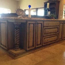 Mediterranean Kitchen Cabinets by Vivienda LLC