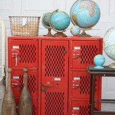 Colourful metal storage unit | Interiors Bazaar
