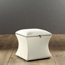 Traditional Ottomans And Cubes by Ballard Designs