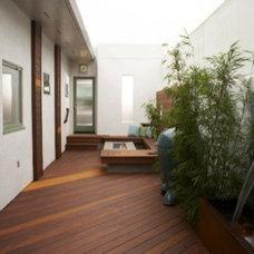 Modern  modern patio
