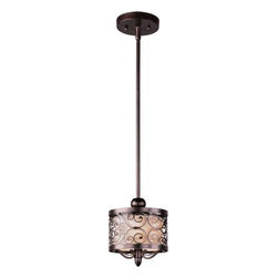Maxim Lighting - Maxim Lighting 91150WHUB Mondrian 1-Light Mini Pendant In Umber Bronze - Features