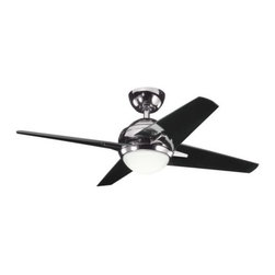 Kichler - Rivetta II Ceiling Fan by Kichler - Soft contemporary color options + a high efficiency DC motor. The Kichler Rivetta II 42 Inch Ceiling Fan works in a number of spaces thanks to the various color/finish options. Includes the CoolTouch 6-Speed DC remote control with full dimming capabilities. Since 1938, Cleveland-based Kichler Lighting has created exceptional lighting in a variety of styles, finishes, colors and designs. With a diverse collection of indoor and outdoor lighting in classic and contemporary styles, Kichler Lighting always focuses on making home lighting that is both beautiful and functional.