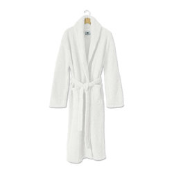 Kashwere Shawl Collar Robe White - What bathroom would be complete without a pair of white robes?