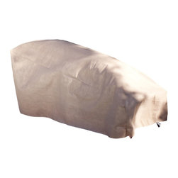 "Duck Covers 86""L Patio Chaise Lounge Cover with Inflatable Airbag - Scroll Below to see our VERY HELPFUL Video on this Chaise Patio CoverPatio Chaise Lounge Cover Actual Size - 86"" L x 34"" W x 32"" H"