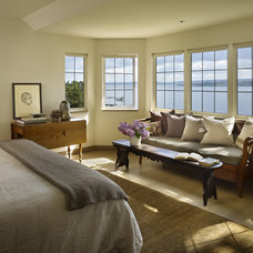 Eclectic Bedroom by NB Design Group, Inc
