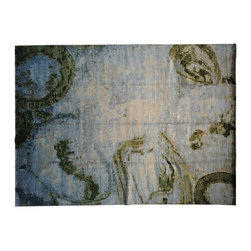 1800-Get-A-Rug - Oriental Rug Modern Nepali Bamboo Silk Hand Knotted Rug Sh8612 - About Modern & Contemporary