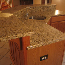 Contemporary  by QUALITY GRANITE & MARBLE