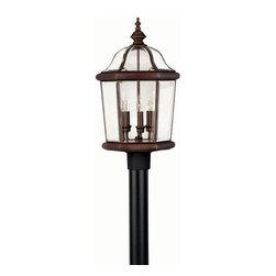 Hinkley Lighting - Hinkley Lighting 2451CB Augusta Large Outdoor Lantern in Copper Bronze - Hinkley Lighting 2451CB Augusta Large Outdoor Lantern in Copper Bronze