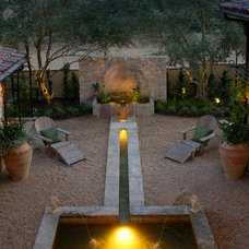 Contemporary Outdoor Fountains And Ponds by Neolithic Design LA