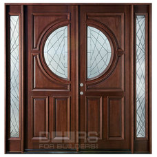 modern front doors by Doors For Builders Inc