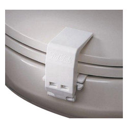 Mommy's Helper - Toilet Lock: Lid Lok - This child-proofing necessity protects your little ones and your plumbing. Attach one to every commode for round-the-clock confidence.
