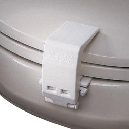 Mommy's Helper - Lid Lok Toilet Lock - This child-proofing necessity protects your little ones and your plumbing. Attach one to every commode for round-the-clock confidence.