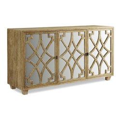 Brownstone Furniture Ibiza Teak Server - Brownstone Furniture Ibiza Teak Server