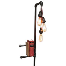 Industrial Floor Lamps by Oilfield Slang