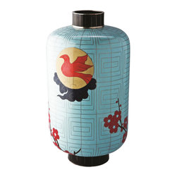 """Piling Palang - Sunbird Chinese Lantern by Piling Palang - """"Elle Decor"""" magazine named this delightful piece a winner and you will, too. The sweet sunbird and floral design is at once traditional and modern. It's a real charmer in your kitchen windowsill."""