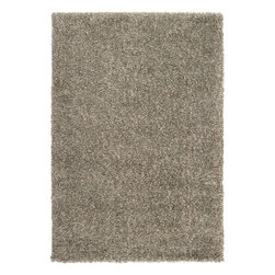 "Surya - Plush Luxury Shag 1'10""x2'11"" Rectangle Putty-Winter White Area Rug - The Luxury Shag area rug Collection offers an affordable assortment of Plush stylings. Luxury Shag features a blend of natural Putty-Winter White color. Machine Made of 100% Polypropylene the Luxury Shag Collection is an intriguing compliment to any decor."