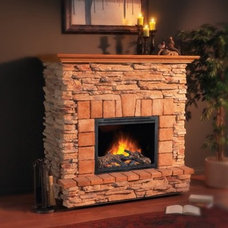Traditional Indoor Fireplaces by ATGStores.com