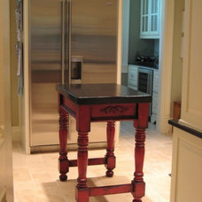 Traditional Kitchen Islands And Kitchen Carts by JB Woodwork
