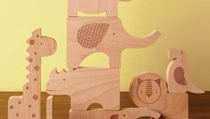 Safari Jumble Wood Puzzle Play Set