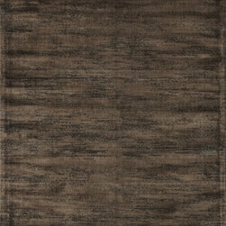 "Loloi Rugs - Loloi Rugs Nyla Collection - Pinecone, 2'-4"" x 7'-9"" - The power-loomed Nyla Collection from Egypt offers a range of subtle, sophisticated looks that enhance an interior space at a value-driven price. Made of 100% viscose, Nyla features soft color combinations with touches of mocha, plum, and mist throughout the selection."
