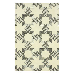 RugsUSA - Contemporary 3' x 5' Ivory Hand Tufted Area Rug Trellis GD40 - Made from the finest materials in the world and with the uttermost care, our rugs are a great addition to your home.