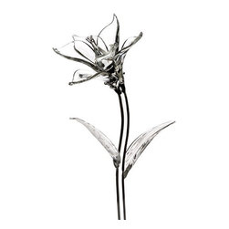 Waterford Crystal Fleurology Glass Flowers, Lily - Faux flowers are a no-no, but crystal ones? I'm all for it.