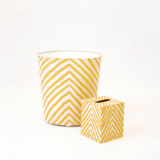 contemporary waste baskets by PoshTots