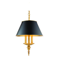 Hudson Valley Lighting - Hudson Valley Lighting 9521-AGB Cheshire 3 Light Pendant, Aged Brass - This 3 light Pendant from the Cheshire collection by Hudson Valley Lighting will enhance your home with a perfect mix of form and function. The features include a Aged Brass finish applied by experts. This item qualifies for free shipping!