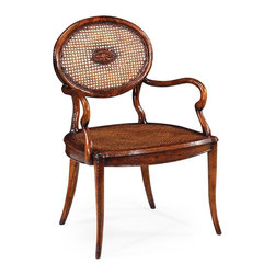 Jonathan Charles - New Jonathan Charles Dining Chair Walnut Arm - Product Details