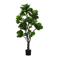 Silk Plants Direct - Silk Plants Direct Fiddle Leaf Plant (Pack of 2) - Pack of 2. Silk Plants Direct specializes in manufacturing, design and supply of the most life-like, premium quality artificial plants, trees, flowers, arrangements, topiaries and containers for home, office and commercial use. Our Fiddle Leaf Plant includes the following: