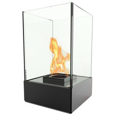 Contemporary Indoor Fireplaces by Decorpro