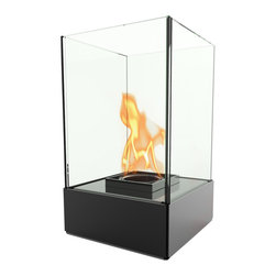 Decorpro - Cell Micro Bio Ethanol Indoor/Outdoor Fireburner - Cell Micro is the smaller and more compact version of Cell. It is by far the most versatile Fireburner / Firepot in the Decorpro product line. It can be used as a 3 in 1 concept -  gel fuel, candles or can be turned into a terrarium. Can be used indoors and out. Can also be used with the Mounting Bracket to mount the Cell Micro on a x inch deck post. This allows you to mount the Cell Micro onto the top of a fence or as a decorative addition to your balcony deck posts. Use Organica Bio Safety Fuel or the Sunjel one time use fuel canister to create the wonderful smoke free flame. Fuel sold separately. This product includes a snuffer. This Fireburner is made of steel and is painted in a durable epoxy powdered paint. Durable for any climate.